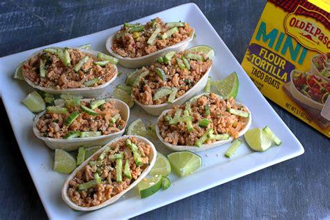 cucumber taco boats thai larb taco boats the food in my beard