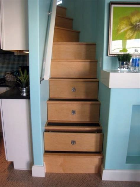 Storage Drawers In Stairs by Created By Stairs Drawers Plenty Of Storage Space Stairs