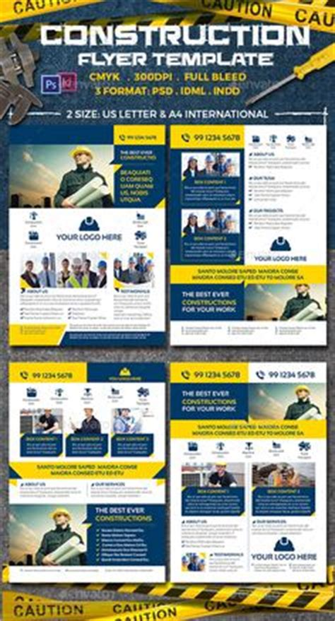 Home Construction Flyer Info On Affording House Repairs Topgovernmentgrants Com Home Home Improvement Flyer Template Free