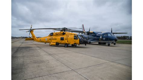 ppg aerospace coatings recreate historic paint schemes for coast guard aircraft