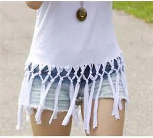 shirt reconstruction diy fashion crafts more