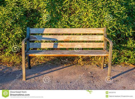 bench alone royalty free stock image image 36123116