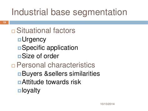 Industrial Segmentation In Mba by Market Segmentation