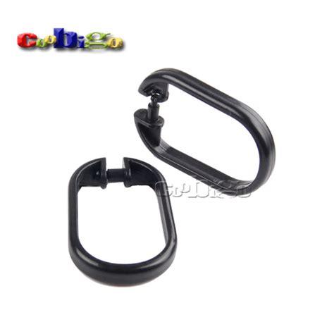 clip on shower curtain rings 1000pcs pack 59 38mm practical black plastic shower