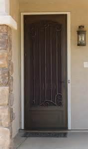 security door on doors window