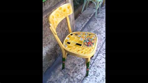 sedie decorate piantavigna artesuvetro sedie decorate
