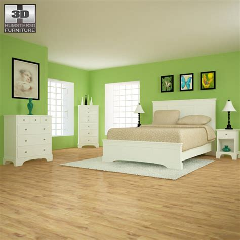 ikea model bedrooms bedroom furniture 28 set 3d model game ready max obj 3ds fbx c4d lwo lw lws