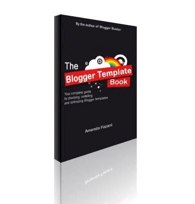 blogger templates for ebooks blogger buster the blogger template book free ebook to
