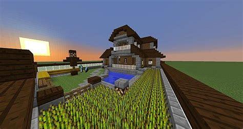 minecraft  dark wood manor minecraft map