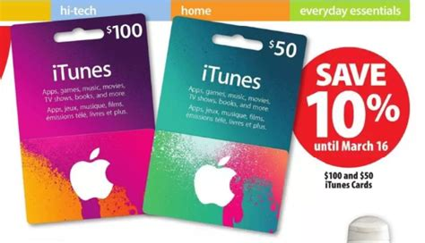 Itune Gift Card Sale - itunes cards on sale save 10 off at london drugs superstore u iphone in canada