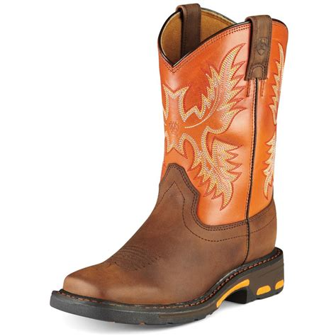 ariat boots ariat youth workhog work boots d d outfitters