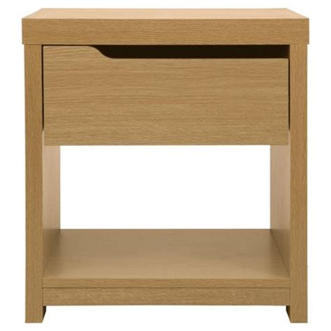 Oak Effect Side Table Buy Seattle Side Table Oak Effect From Our Side L Tables Range Tesco