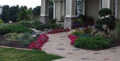 landscaping front entrance design ideas landscape