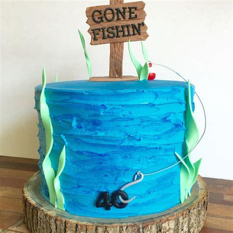 fishing boat cake ideas gone fishing cake 40th birthday cake 777 awesome happy