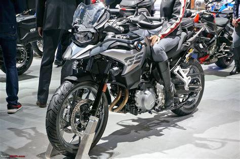 Bmw Motorrad F750gs by Bmw Motorrad Auto Expo 2018 Team Bhp