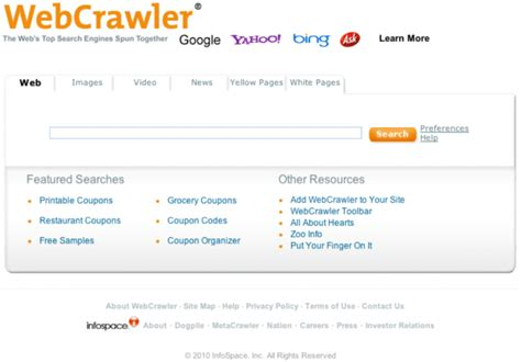 What Is The Best Search Website Top 10 Popular Search Engines On The Web 2014 Topteny 2015