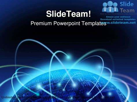 global information technology powerpoint templates themes