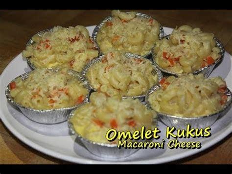 membuat cheese omelet resep omelet telur kukus macaroni cheese mudah enak dan