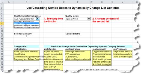 design menu excel creating cascading drop down menus in excel critical to