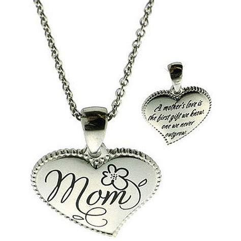 walmart jewelry connections from hallmark stainless steel inscribed quot