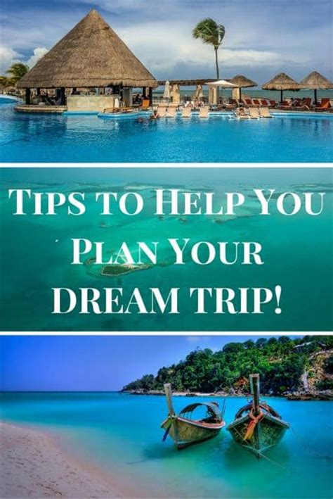 6 tips to help you plan your trip