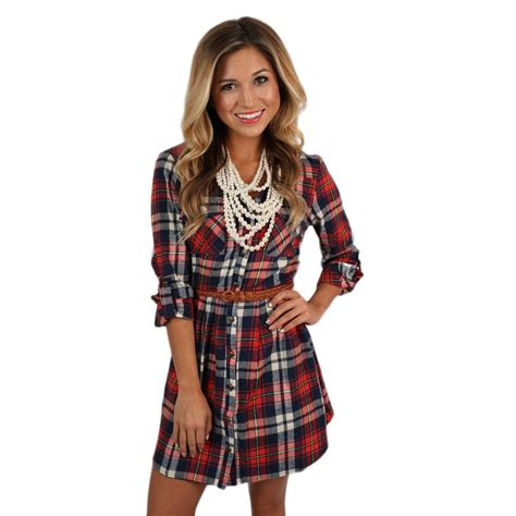 Comfort Colors Sizing Southern Comfort Flannel Dress In Red Impressions Online