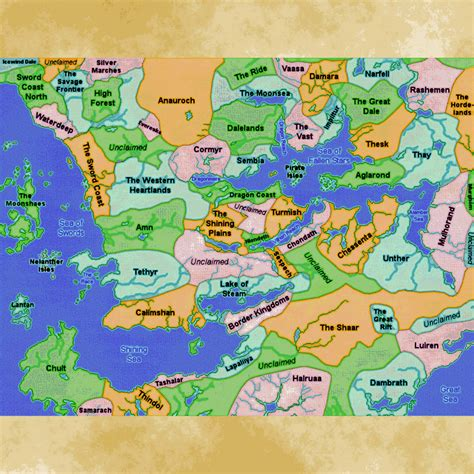faerun map forgotten realms calendar search results calendar 2015
