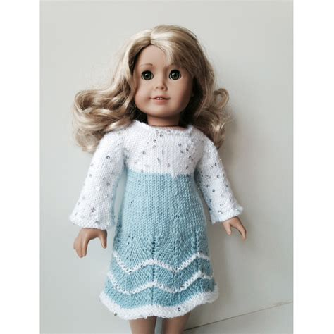 how to knit a doll princess dress 18 quot doll knitting kit knit n play