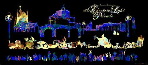 disney light parade evan s travel reportage and illustration