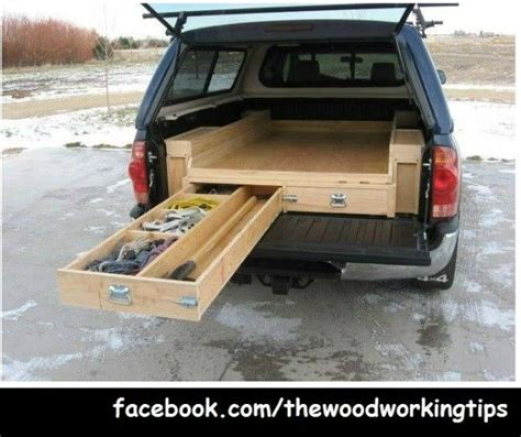 diy truck bed cer truck bed drawers plans autos post