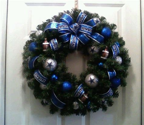 1000 ideas about dallas cowboys wreath on pinterest