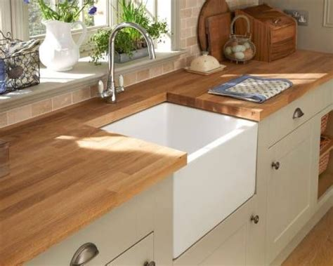 Kitchen With Belfast Sink 17 Best Ideas About Belfast Sink On Butcher Block Countertops Diner Kitchen And