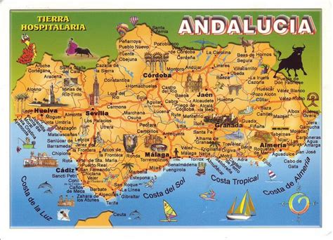 southern spain map 111 best andalusia spain images on andalusia