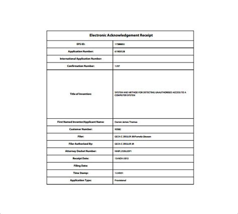 Electronic Donation Receipt Template receipt template doc for word documents in different types