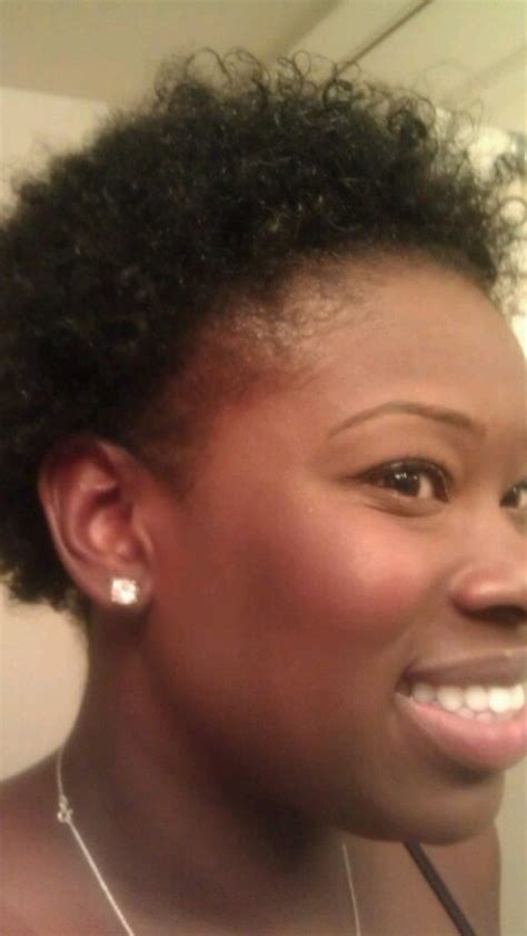 best hairsyles for hair missing on the edges pic i cut my hair off again a lot napturalnicole