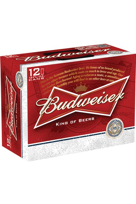 how much is a 12 pack of bud light cans budweiser 12 pack 12 oz cans