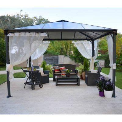 Tonnelle Couv'Terrasse® 3,6 x 3,6 m   Castorama