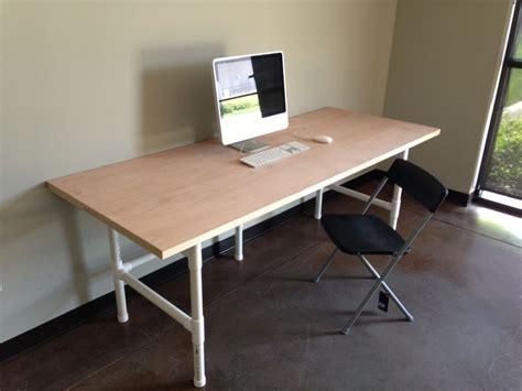 Computer Desk Plan Wood Work Pvc Computer Desk Plans Pdf Plans