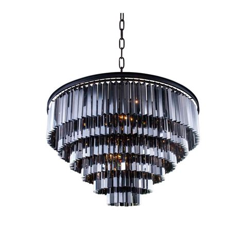 Grey Chandelier Shades Lighting Sydney 33 Light Mocha Brown Chandelier With Silver Shade Grey 1201d44mb