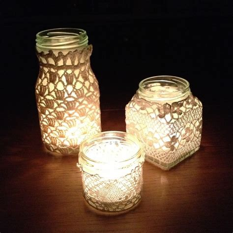 Decorating Jam Jars For Candles by 21 Best Images About Haken Potten Omhaken On