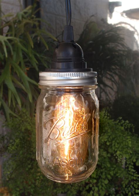 mason jar lights jar pendant light