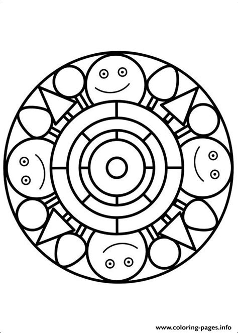 mandalas coloring pages on coloring book info easy simple mandala 90 coloring pages printable