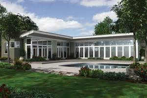 Zimbabwe House Plan Four mid century modern house plans houseplans com