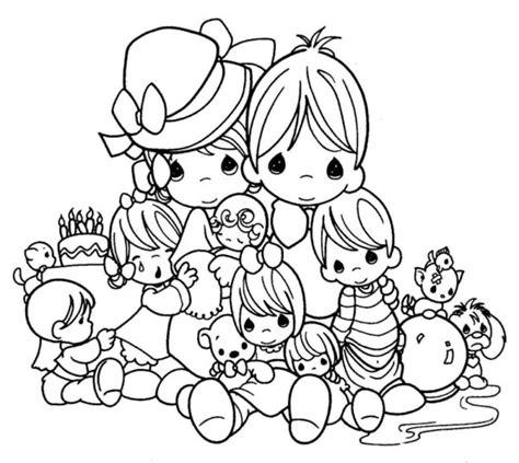 imagenes de la familia para imprimir dibujos infantiles del d 237 a de la familia para colorear