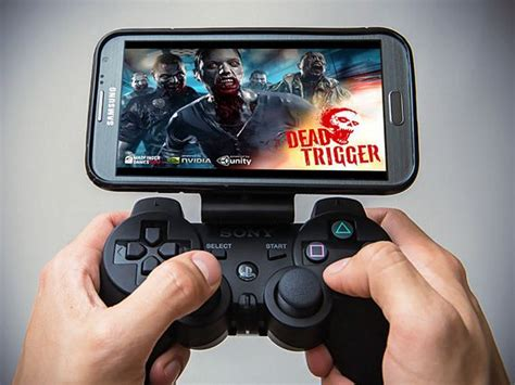 Joystick Gaming Mobile Handphone Smartphone 1 Pc Joystick 1 Pc Pouch gameklip mounts your phone onto a ps3 controller