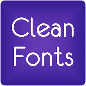 my font apk fonts clean for flipfont 174 free android apps on play