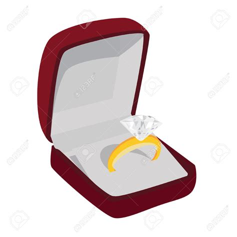 Wedding Ring Jewelry Box by Jewelry Clipart Wedding Ring Box Pencil And In Color