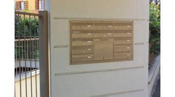 cassette della posta condominiali produzione casellari per posta ravasi