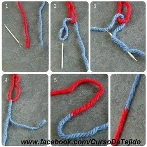 adding yarn when knitting on how to join to colors of yarn knit and crochet
