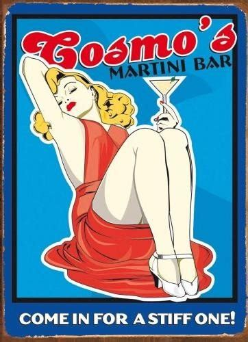 martini bar sign cosmo s martini bar tin signs metal signs sold at